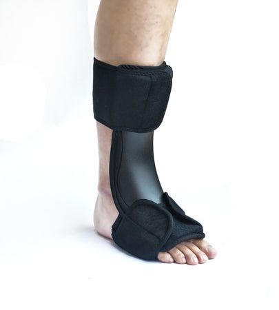 Night Plantar Fasciitis Sleep Support Adjustable Brace Splint Fits 40-45 Size