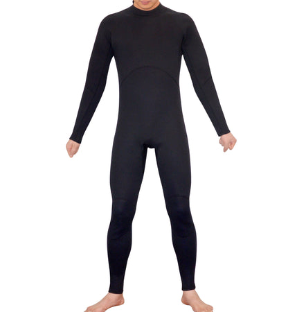 Mens Steamer Wetsuit Long Sleeve/Leg 3mm Neoprene Wet Suit - Large