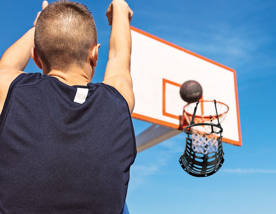 Basketball Return Net - Ball Returner Basketball Rebounder
