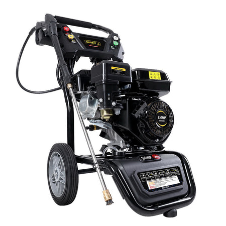 Giantz Petrol High Pressure Washer Gun Water Cleaner Gurney Pump 8HP 4800PSI