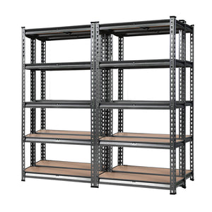 Giantz 4x0.7M Warehouse Racking Shelving Storage Rack Steel Garage Shelf Shelves