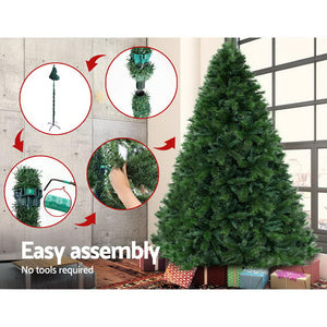Jingle Jollys Christmas Tree 2.1M 6FT Xmas Decoration Green Home Decor 1584 Tips