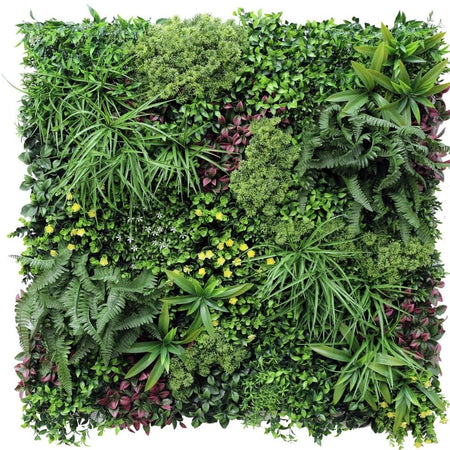 Country Fern Vertical Garden Green Wall UV Resistant 100cm x 100cm