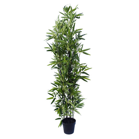 Artificial Bamboo Black Bamboo 180cm Real Touch Leaves