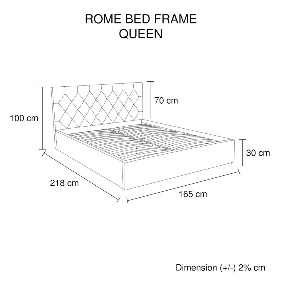 Gaslift Bed (Rome)
