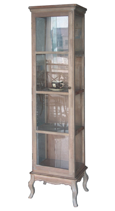 Wash White Display Cabinet