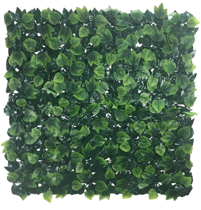 Country Oak Artificial Vertical Garden Hedge Panel 1m x 1m