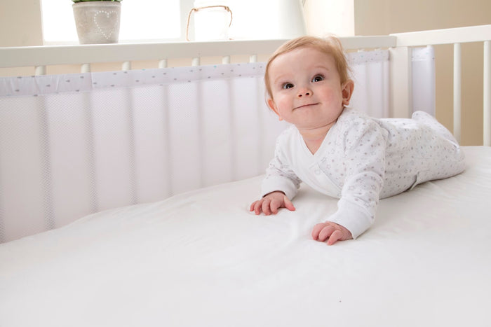 Purair Breathable Cot Bumper - Tear Drop