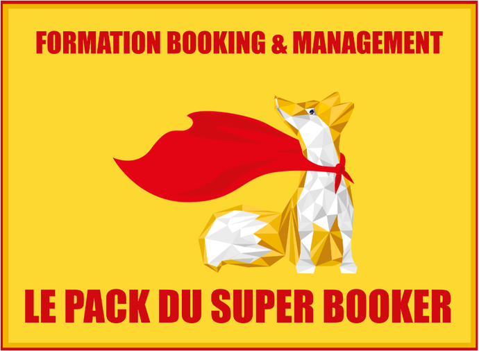 LE PACK DU SUPER BOOKER (3 FORMATIONS) + 22.000 CONTACTS PROS OFFERTS