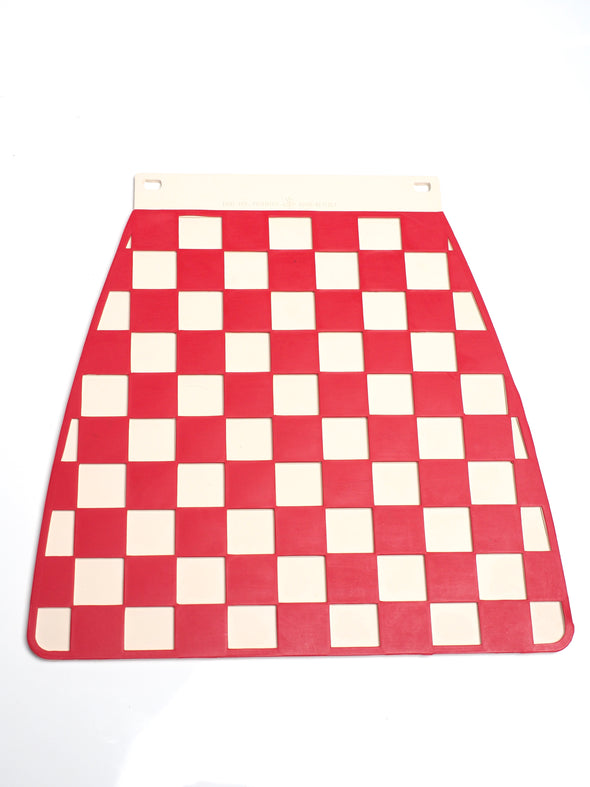 MUDFLAP Red Checkered