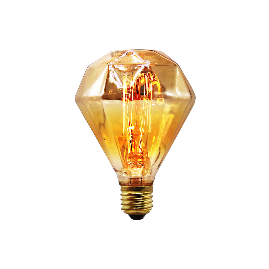 Gold Diamond Large Bulb