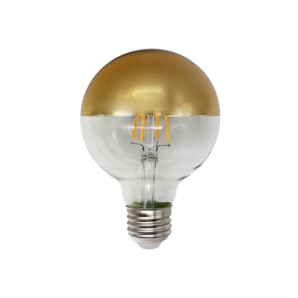 Gold Dipped Large Bulb