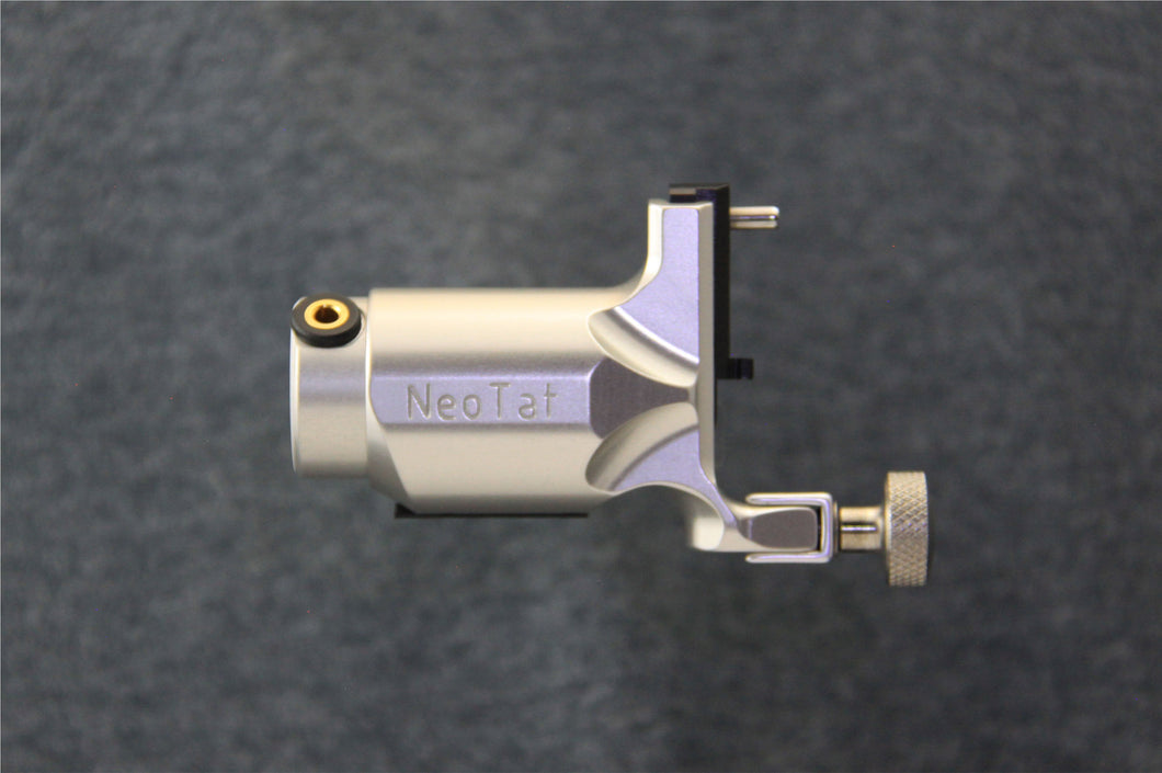 Neotat Vivace Original Linear Rotary Tattoo Machine Neo-Tat Silver