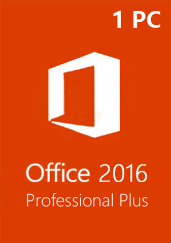 Microsoft Office 2016 Professional Plus 2016 Full Version - License Key Lifetime