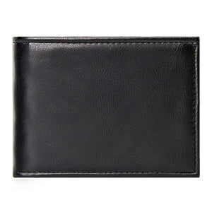 Casaul Small Wallet Male Leather Black Slim Short Wallets Men Pu Leather Men Wallet with Coin Pocket Luxury Brand Mens Purse