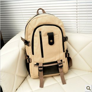 2019 New Unisex Vintage Canvas Backpack Satchel Rucksack School Bag Large Capacity Travel Camping Bag