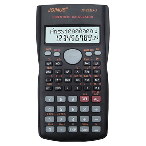 Multifunctional Scientific 2 Line LCD Display Calculator Portable Handheld Function Calculator 240 Functions