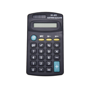 Portable 8 Digit Calculator General Purpose Electronic Calculator Battery Powered School Company Office Supplies