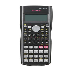 Portable Handheld Student's Scientific Calculator 2 Line Display Multifunctional Calculator for Mathematics Teaching Dropshiping