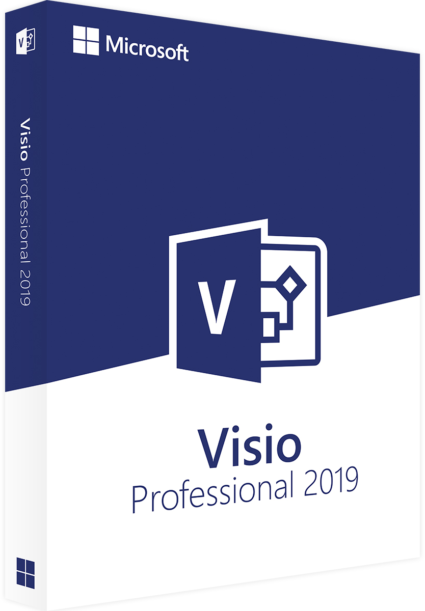 Microsoft Visio 2019 Professional Pro License and Download