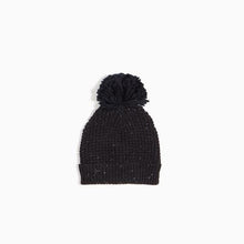 Load image into Gallery viewer, Black Waffle Knit Hat