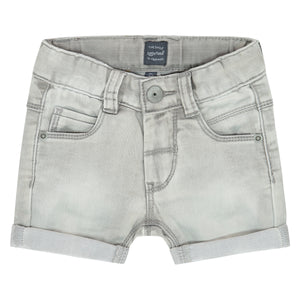 Boys Grey Jean Short