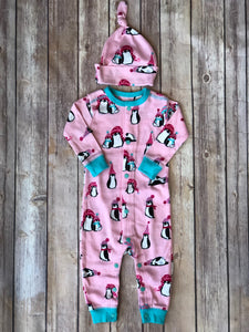 Holiday Penguin PJ set