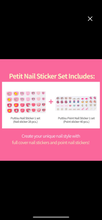 Load image into Gallery viewer, Petit Nail Sticker