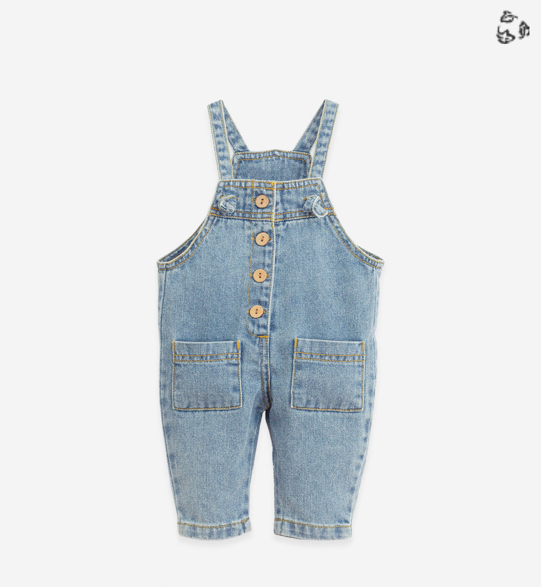 100% Cotton Denim Overalls