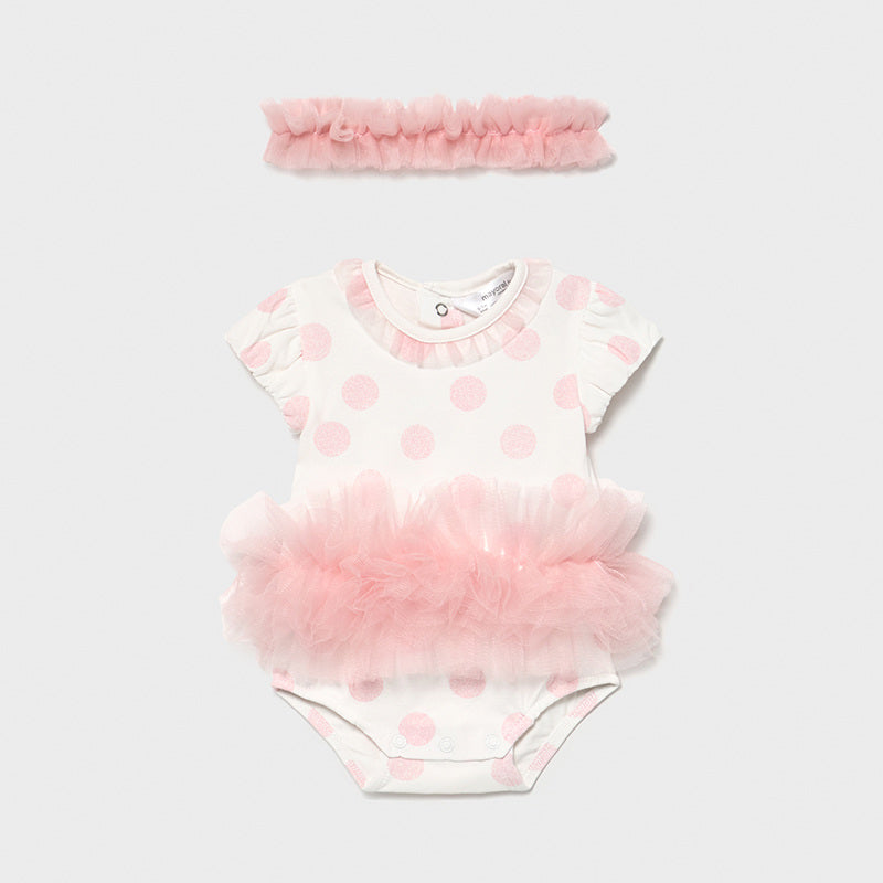 Tutu Onesie with Headband