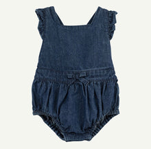 Load image into Gallery viewer, Denim Bubble Romper