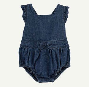 Denim Bubble Romper