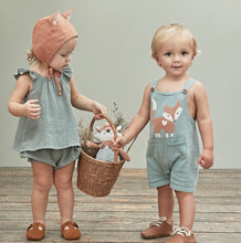 Load image into Gallery viewer, Fox Knit Shortall Romper