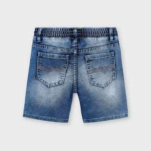 Soft Denim Bermudas