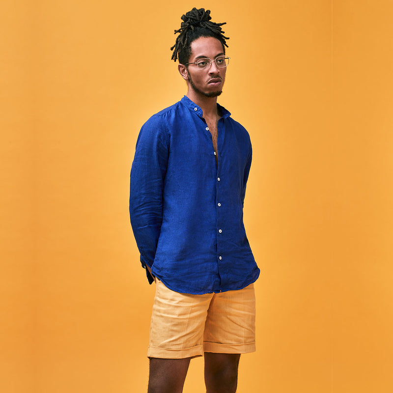 Pondicherry Linen Shirt Unisex | Coconut Residence