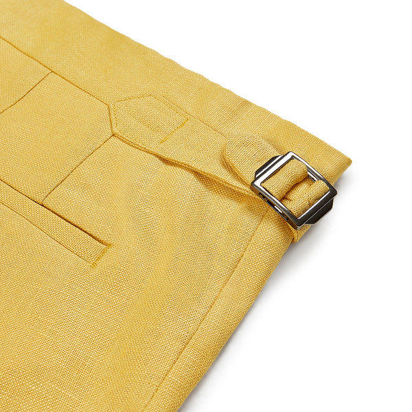 Banjul Shorts Georgetown Yellow | Coconut Residence