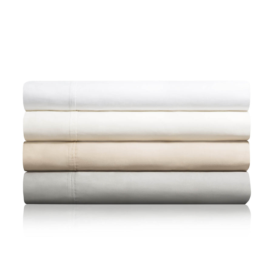 Malouf Woven 600 TC Cotton Blend Bed Sheets