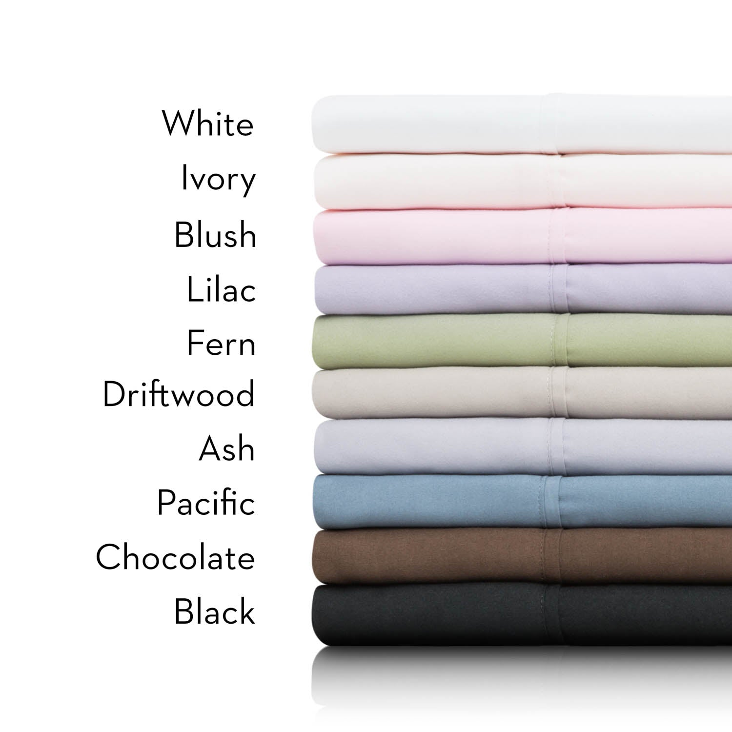 Malouf Woven Brushed Microfiber Bed Sheet Set