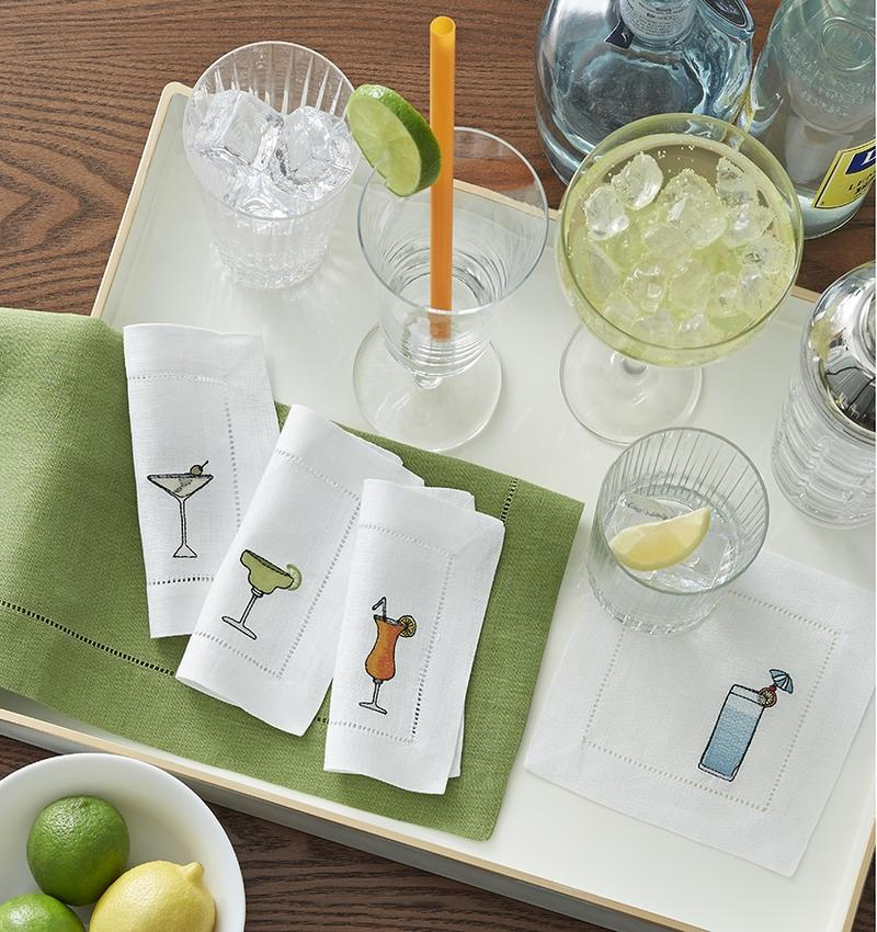 Sferra Bevande Cocktail Napkin