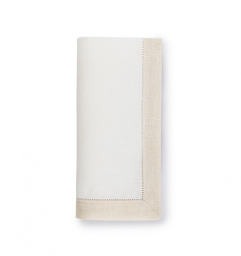 Sferra Filetto Cocktail Napkin
