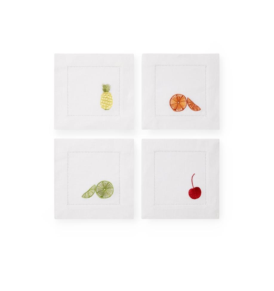 Sferra Frutta Cocktail Napkin