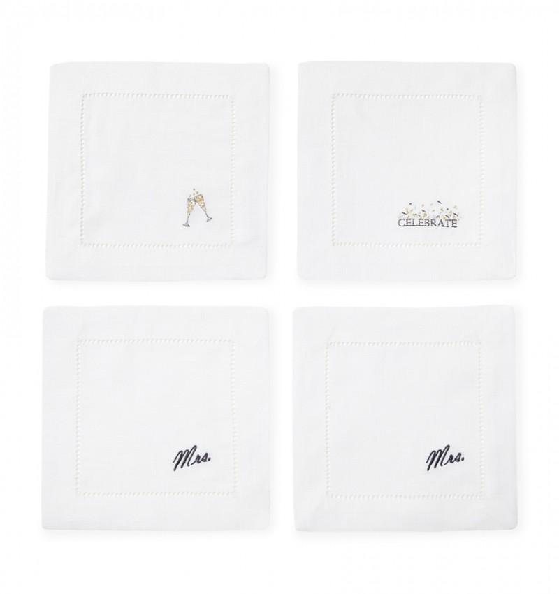 Sferra Celebrations Cocktail Napkin