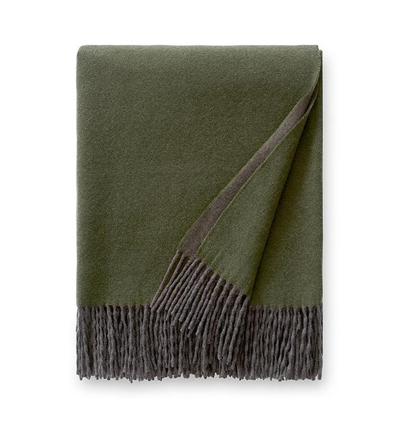 Sferra Renna Fringed Throw