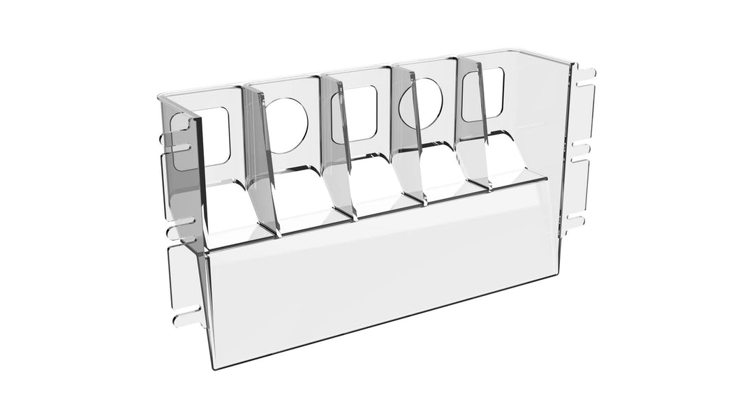Hi-Vis® HVB-5D Beverage Rack (10 pack)