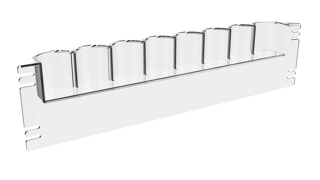 Hi-Vis® HVB-8 Beverage Rack (12 pack)