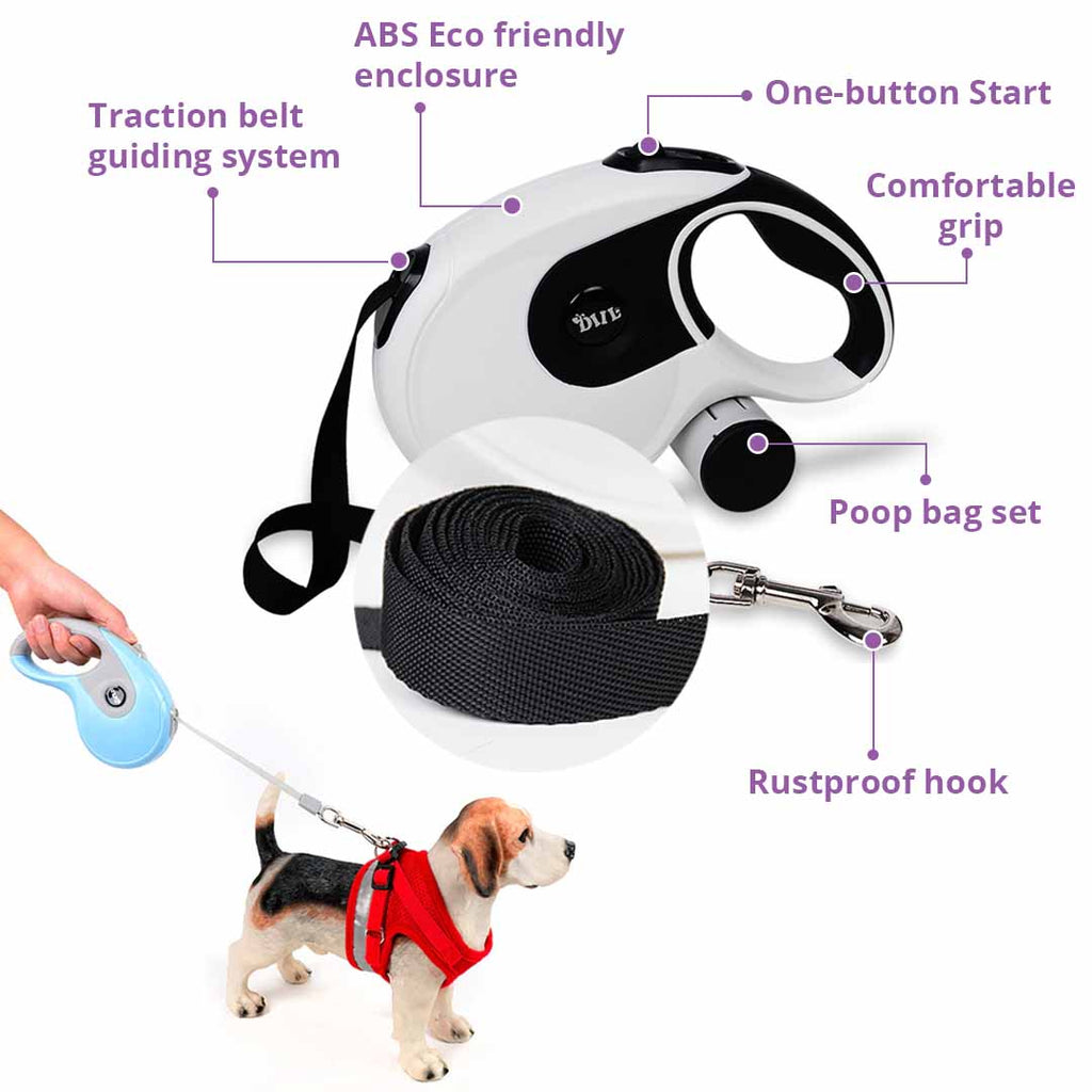 Automatic Dog Leash Design