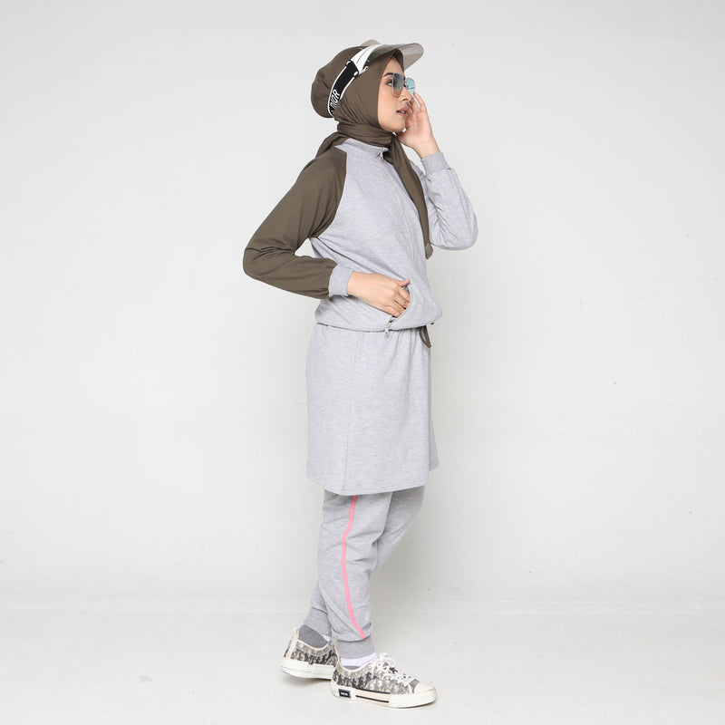 SKIRT JACKET DEENAY GREY