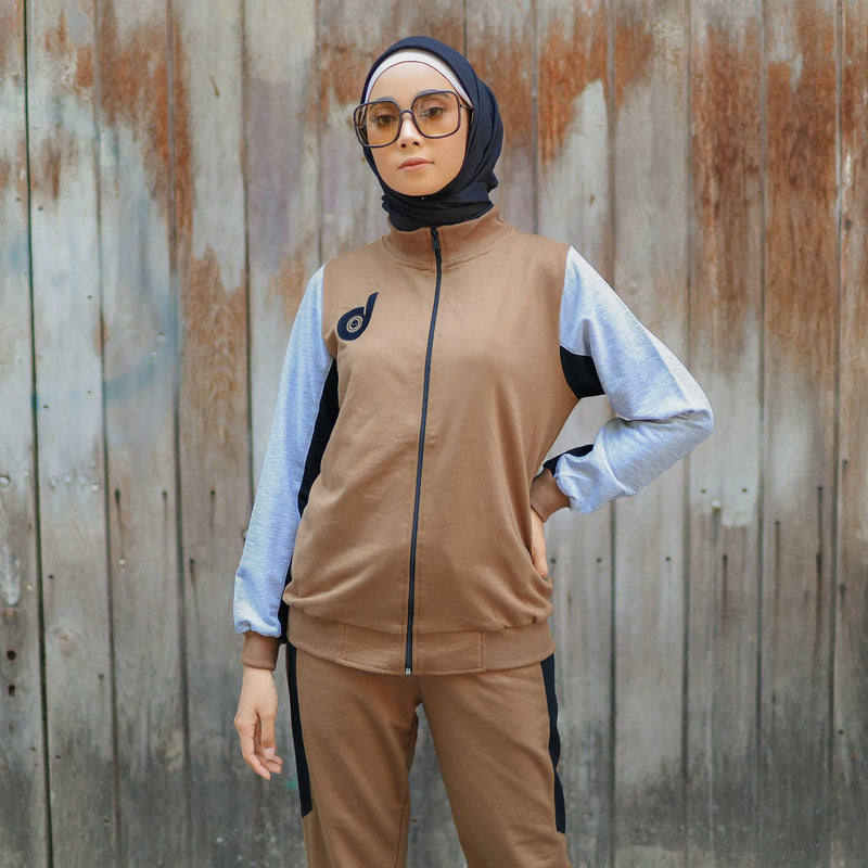 JACKET DEENAY ACTIVE HAPPY BROWN