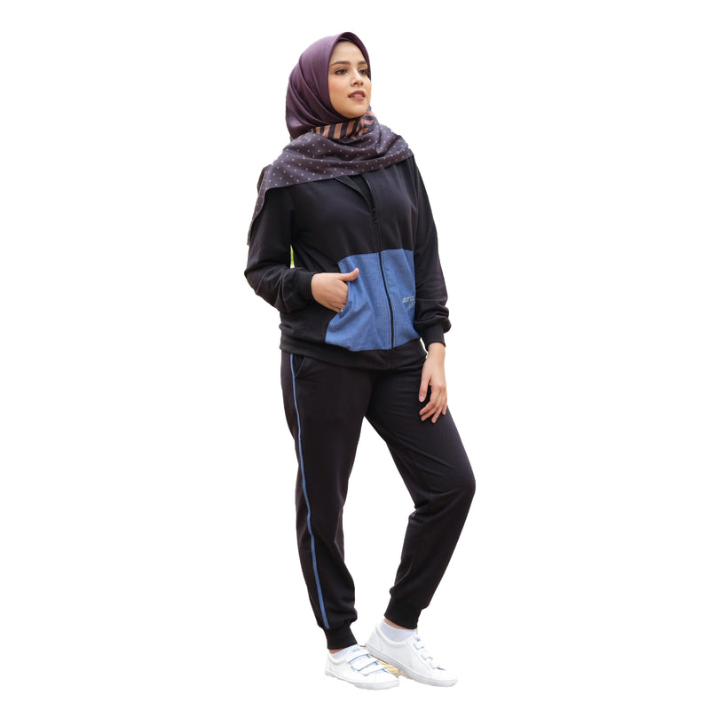 JACKET DEENAY ACTIVE BLACK
