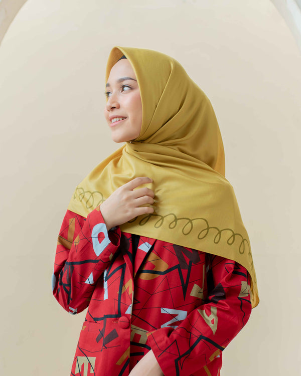 HIJAB DEENAY SPRING GOLDEN YELLOW